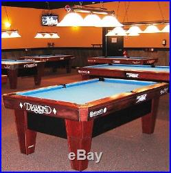 Rosewood Diamond Pro Am 7' Billiard Table with Simonis Cloth