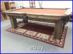 Rustic Custom Pool Table
