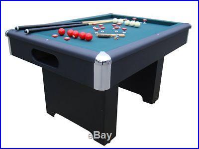 SLATE BUMPER POOL / BILLIARDS GAME TABLE in BLACK by BERNER BILLIARDS~ BRAND NEW