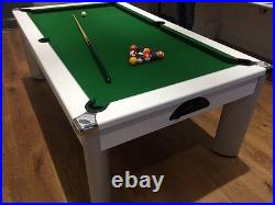 SUPERPOOL ARAMITH 2 Spots and Stripes American Pool Balls with 17/8 Cue Ball