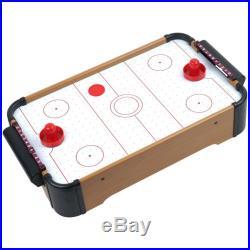 Set of 3 Table Games Air Hockey Foosball and Pool