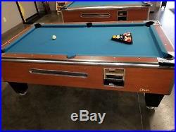Shelti Pool Table with balls, and rack