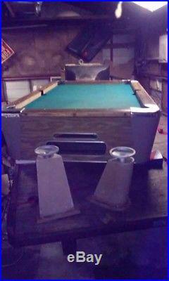 3e58e3ff999 Slate pool table with accessories