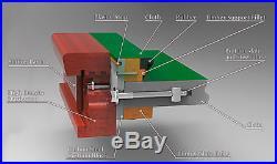 Snooker Billardtisch Modell Bardossa II 12 ft. Von Billiard-Royal
