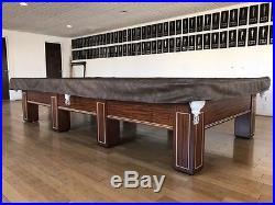 Snooker Pool Table, 1900 Circa Brunswick Antique- Balke Colllender Company