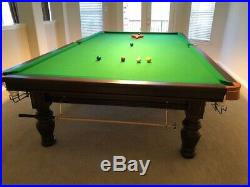 Snooker Table Full Size 12'x6' In Perfect Condition With All Accessories