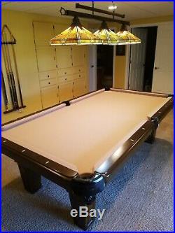Spencer Marston 1 Slate pool table