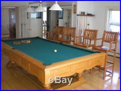 Stunning Brunswick Prestige 9ft Pool Table