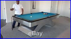 Stunning Olhausen Waterfall 8' Pool table pkg withFREE Delivery & Installation