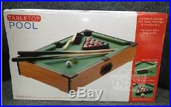 Style Asia GM7451 Tabletop Billiards Pool Game Set 11 x 18