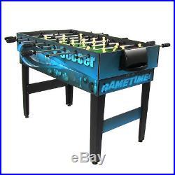 Sunnydaze Multi Game 10-in-1 Kids Game Table Billiards Foosball Hockey Pool