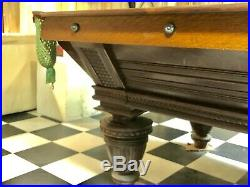 The Brunswick Balke Collender Co Antique pool table 1912 Incredible Price