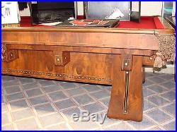 The Kling Antique 9' Brunswick Balke Collender / BBC Pool Table