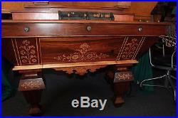 The Popular Brunswick-Balke-Collender Antique Pool Billiards Table