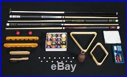 The Ruston 8 Pool Table With Free Accessories Kit