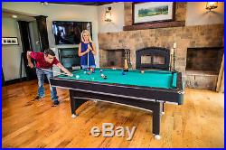 Triumph Phoenix 7' Billiard Pool Table Set With Table Tennis Conversion Top