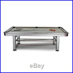 Tropicana Pool Table 8' Outdoor with Accessories and FREE Shipping