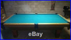 USED Olhausen 8 ft Slate Pool Table MUST GO