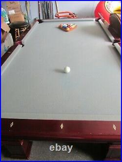 United Billiards Used Eight Foot Pool table