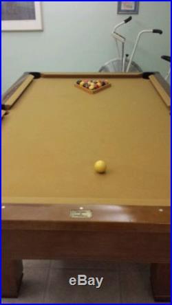 Used Hawthorn Brunswick pool table