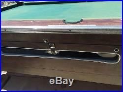 VALLEY COMMERCIAL COIN OPERATED 7 FOOT POOL TABLE