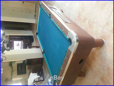 VALLEY POOL TABLE BAR COIN OPERATED