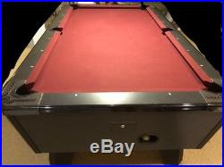 Valley 93 Panther POOL TABLE Black Cat Finish COIN OPERATED hard to find
