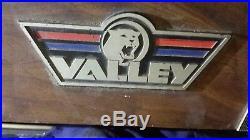 Valley Pool Table 88 model C #2 6 1/2 feet