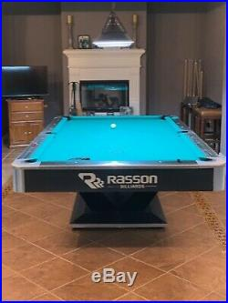 Victory II Pool Table by Rasson 8' or 9' Victory II Billiard Table 8ft or 9ft