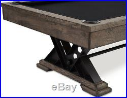 Vienna Ultimate Game Room Pool Table Shuffleboard Poker Table & FREE SHIPPING