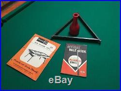 Vintage1950s Brunswick pool table / Price Drop