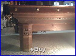 Vintage 1900's Brunswick Pool Table