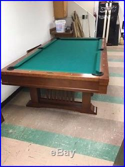 Billiards Tables Blog Archive Vintage Foot Brunswick Billiards - Brunswick mission pool table