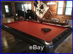 Vintage AMF Brunswick Pool Table