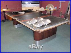 Vintage/Antique Brunswick Billiards Anniversary Pool Table 8 Foot
