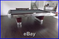 Vintage, Antique Brunswick Billiards Centennial Pool Table