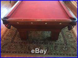 Vintage Babcock Victorian Pool table