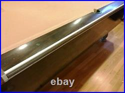 Vintage Bar Billiards Table And Ping Pong Attachments Pick Up Only