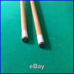 Vintage Brookstone Pool Table Mini Billiards Toy Vintage with legs & Balls 44x23