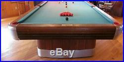 Vintage Brunswick 5 x 10 Foot Anniversary Billiard Snooker Table