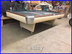 Vintage Brunswick Anniversay/Gold Crown Hybrid (SCHAAF) Pool Table Restored 9