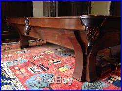 Vintage Brunswick-Balke-Collender Billiard/Pool Table
