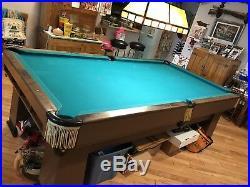 Vintage Brunswick-Balke-Collender Billiard/Pool Table Local Pick up only