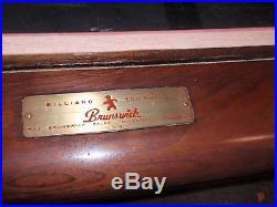 Vintage Brunswick Billiards 9 ft Anniversary Pool Table Mid Century Modern