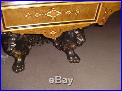 Vintage Brunswick Billiards Monarch Antique Pool Table
