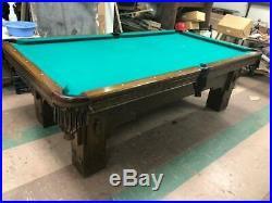 Vintage Mission Pool Table 8