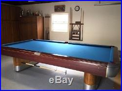 Vintage Pool Table with Accessories Anniversary Edition 1939