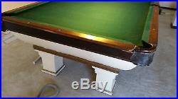 Vintage pool table