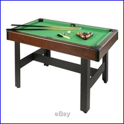 Voit 48 Billiards Table w/Accessories 64803 Pool Table