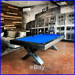 Vox pool table 8ft. Plank and hide free shipping free accessories